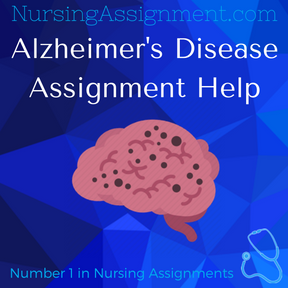 Alzheimer's Disease Assignment Help