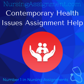 Contemporary Health Issues Assignment Help