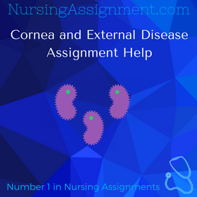 Cornea and External Disease Assignment Help