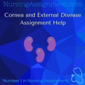 Cornea and External Disease Assignment Help
