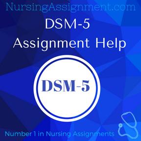 DSM 5 Assignment Help