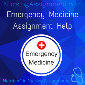 Emergency Medicine Assignment Help