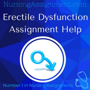 Erectile Dysfunction Assignment Help