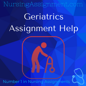 Geriatrics Assignment Help