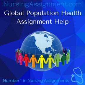 Global Population Health Assignment Help
