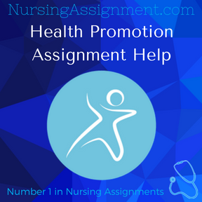 Health Promotion Assignment Help