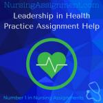 Leadership in Health Practice