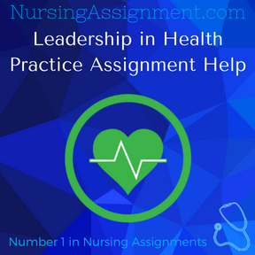Leadership in Health Practice Assignment Help