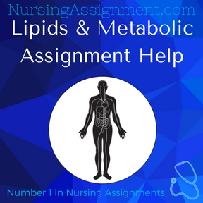 Lipids & Metabolic Assignment Help