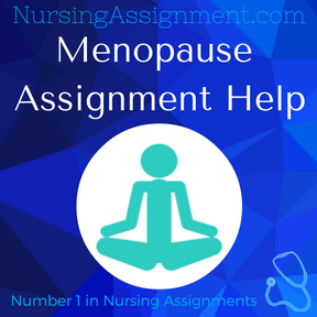 Menopause Assignment Help