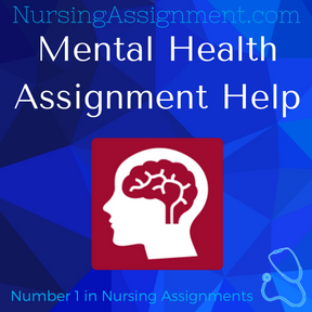 Mental Health Assignment Help