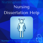 Nursing Dissertation Writing Service