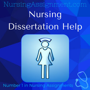 Nursing Dissertation Help