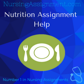 nutrition assignment essay