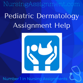 Pediatric Dermatology Assignment Help