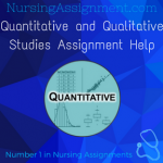 Quantitative and Qualitative Studies