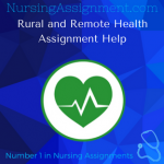 Rural and Remote Health