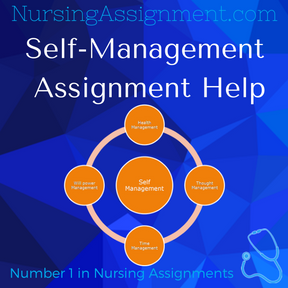 Self-Management Assignment Help