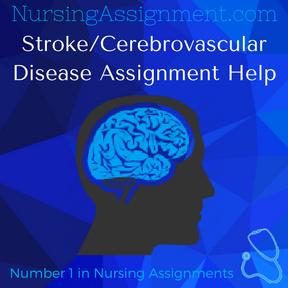 Stroke Cerebrovascular Disease Assignment Help