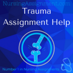 Trauma Assignment