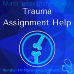 Trauma Assignment