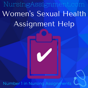 Women s Sexual Health Assignment Help