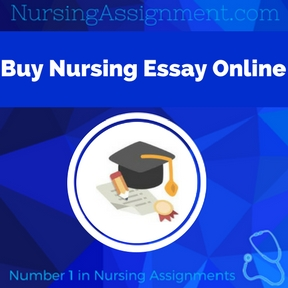 Buy Nursing Essay Online Assignment Help