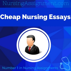 Cheap Nursing Essays Assignment Help