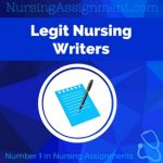 Legit Nursing Writers