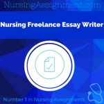 Nursing Freelance Essay Writer