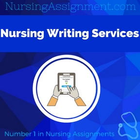 Nursing writing service