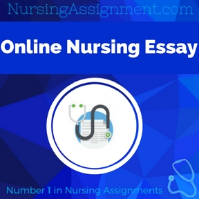 Online Nursing Essay Assignment Help
