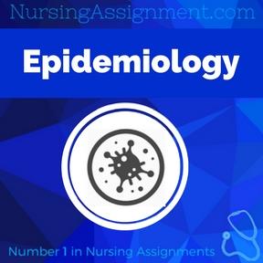 Epidemiology Assignment Help