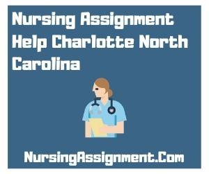 Nursing Assignment Help Charlotte North Carolina