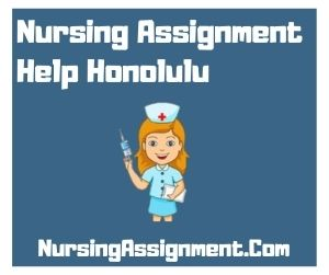 Nursing Assignment Help Honolulu