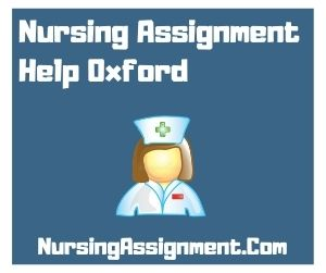 Nursing Assignment Help Oxford