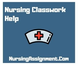 Nursing Classwork Help