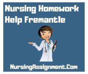 Nursing Homework Help Fremantle
