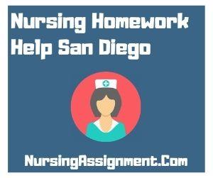 Nursing Homework Help San Diego