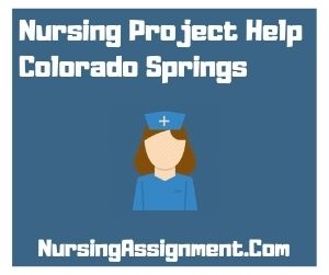 Nursing Project Help Colorado Springs