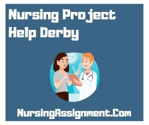 Nursing Project Help Derby