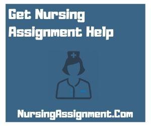 Get Nursing Assignment Help