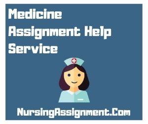Medicine Assignment Help Service